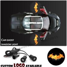 Flaming Bat Batman Logo Car Door LED Courtesy Projector Laser Ghost Shadow Light
