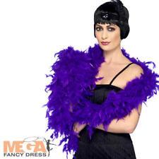 Viola Deluxe Piuma Boa Donna Costume 20 S Charleston Flapper Costume ACC