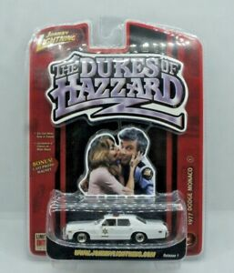 Johnny Lightning Dukes of Hazzard LE 1977 Dodge Monaco Sheriff Release 1 - White