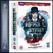 RIPPER STREET - THE COMPLETE SERIES 1 2 3 4 & 5  *BRAND NEW DVD BOXSET***