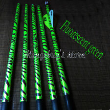 14pcs Flo/Fluorescent Green Arrow Wraps for Archery Shafts Fletches Bow Hunting