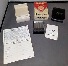 Vintage Commodore Superlative 7 Transistor Radio Complete in Box