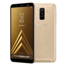 Samsung Galaxy A6+ Plus  2018  Smartphone 32 GB Oro Gold Mono Sim Brand ITalia