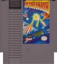 To The Earth - NES Nintendo Light Gun Game
