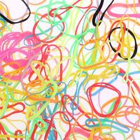 1000pcs/Bag petits élastiques bandes de cheveux tresses poly caoutchouc tresses