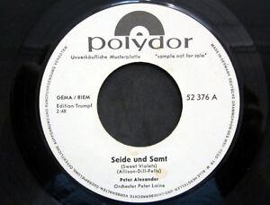 Single / PETER ALEXANDER / JAHR 1964 / MUSTERPRESSUNG / RARITÄT /