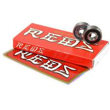 *BRAND NEW* BONES Super Reds Skateboard Bearings FREE SHIPPING *SET OF 8*