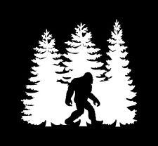 Sasquatch Bigfoot Yeti Car Window Decal Vinyl Laptop Computer Sticker New