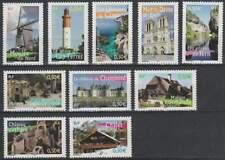 Frankrijk postfris 2004 MNH 3850-3859 - Afbeeldingen uit de Regio