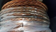 GROUND WIRE STRANDED BARE COPPER 4 AWG 50' Reel  Jewelry Crafts Grounding USA