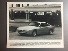 1981 BMW 850i Coupe Factory Press Photo, Foto RARE!! Awesome L@@K