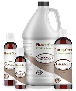 Fractionated Coconut Oil 100% Pure Carrier For Essential Oils Skin Hair Massage