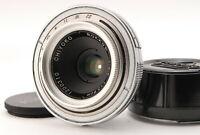 """N MINT w/Case "" Minolta Chiyoko Rokkor 35mm f/3.5 Lens WIde Angle Lens Japan"