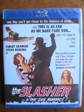 THE SLASHER...IS THE SEX MANIAC aka SO SWEET SO DEAD (Blu-Ray) CODE RED - NEW!!