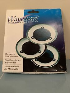 Waveware Microwave Plate Warmers - Set of 3