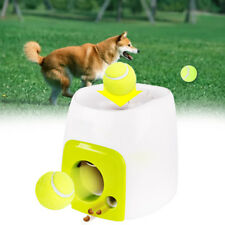 Dog Pet Toys Tennis Launcher Automatic Interactive Throwing Machine Ball sh79