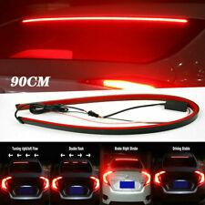 Car Flexible 3rd High Brake LED Signal Light Strip Rear Windshield Stop Bar 90cm
