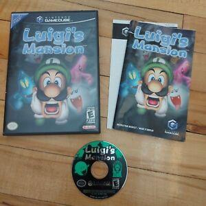 Luigi's Mansion (Nintendo GameCube) - CIB - Very Good Condition