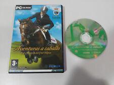 AVENTURAS A CABALLO Y EL MISTERIO DEL CLUB HIPICO JUEGO PC ESPAÑOL CD-ROM