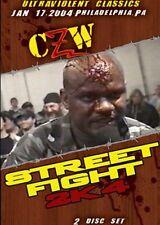 CZW Wrestling: Street Fight 2k4 Double DVD, New Jack