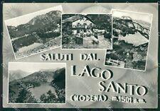 Modena Lago Santo Saluti da Foto FG cartolina KF3299