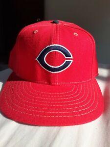 Vintage Cincinnati Reds baseball Cap American Needle Fitted size 7 hat