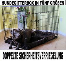 B-WARE MyPets® X-Treme Safe Hundegitterbox Hundetransportbox Hundekäfig