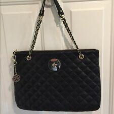 DKNY Soft Nappa Quilted Leather Zip Shoulder Bag RV$199