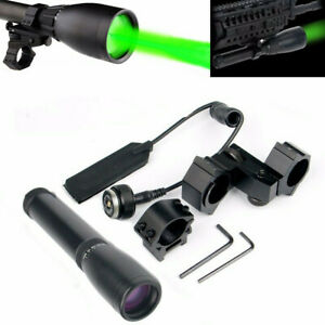 ND3 x30 Green Laser Long Distance Designator with Adjustable Torch Scope Mount
