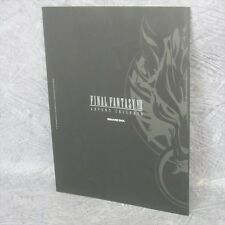 FINAL FANTASY VII 7 Advent Children Movie Booklet Art Book Ltd