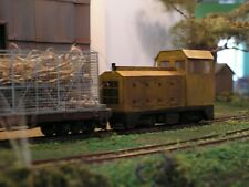 0n30/7mm Narrow Gauge Etched Brass Bodyshell for Bachmann HO 70 tonner Kit No704