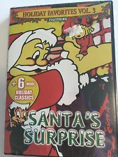 Santa's Surprise Holiday Favorites Vol. 3 DVD 2005 Christmas