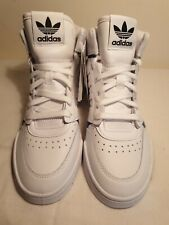 adidas drop step uk 5.5 white hi tops with padded tounge and cuff BNWT.