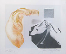 JAMES ROSENQUIST 'Balcony' AP 12/12 Hand Signed Lithograph 1979