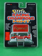 Racing Champions Mint 1970 Plymouth Superbird #54 1:68 Red Car Emblem Stand 1996
