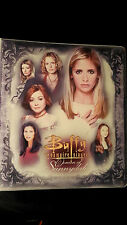 Buffy the Vampire Slayer Women of Sunnydale Trading Cards, Sheets & Binder