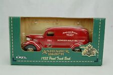 ERTL Anheuser Busch 1938 Panel Truck Bank GM Red 1:25 Diecast Metal