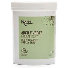Arcilla Verde Najel Para Grasa/Piel Grasa Powder 1kg