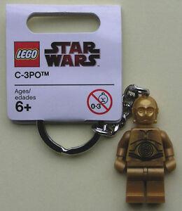 LEGO Star Wars Schlüsselanhänger C-3PO, 852837, Neu