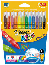 12 x Bic Kids Couleur Felt Tip Colouring Pens Water Based - Same Day Dispatch
