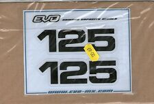 YZ125 YZ 125 1979-1985 cc side panel decals