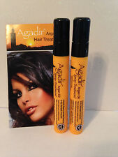 AGADIR ARGAN OIL SPRAY HAIR TREATMENT - TRAVEL SIZE  X2