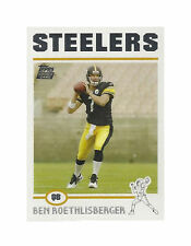 2004 Topps Ben Roethlisberger Pittsburgh Steelers #311 Football Card
