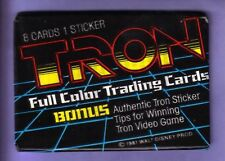 1982 Donruss TRON Trading Card Wax Pack Fresh From Box!