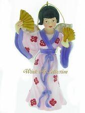 "Joan Pilallis ""Angels of the World - Japan"" Musical Ornament"