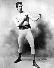 1897 Boxing Heavyweight JIM JAMES CORBETT Glossy 8x10 Photo Boxing Pose Portrait