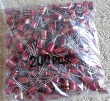 Elna Cerafine ROA Electrolytic Capacitors 10uF/63V NOS (200 pcs.)