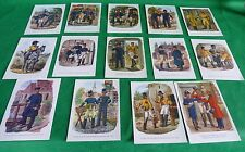AK Sammlung Historische Postbeamte Gustav Müller 14 stk.