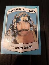 1982 Wrestling All Stars Series B The Iron Sheik ROOKIE CARD #23
