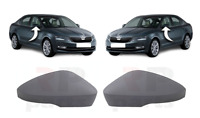 FOR SKODA OCTAVIA 13-19, VW T-ROC 17-20 WING MIRROR COVER CAP FOR PAINTING PAIR
